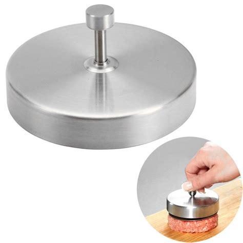 0 5cm Press Eyelet Mould Gray neje stainless steel kitchen hamburger press patty