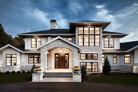 traditional modern home traditional meets contemporary in sophisticated michigan