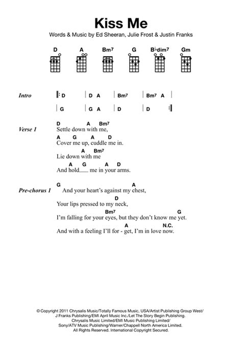 ukulele tutorial ed sheeran guitar guitar tabs kiss me guitar tabs kiss guitar