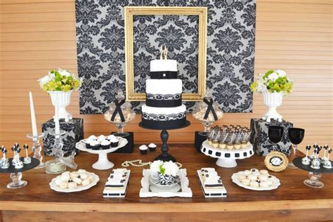 black and white 70th birthday decorations criolla