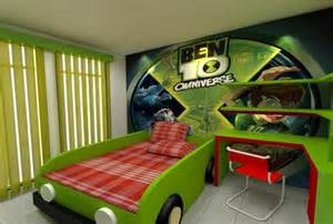 Used Bedroom Furniture Sets by Ben10 Style Kids Room Decoration Ideas Decorazilla