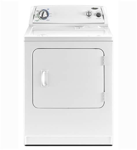 Whirlpool Clothes Dryers Review Of Whirlpool 7 Cu Ft Electric Dryer White Model