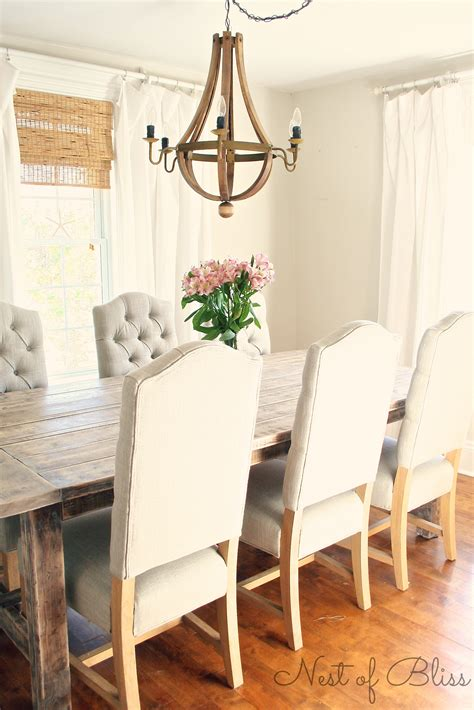 Wicker Dining Room Chair selecting the right dining chairs nest of bliss