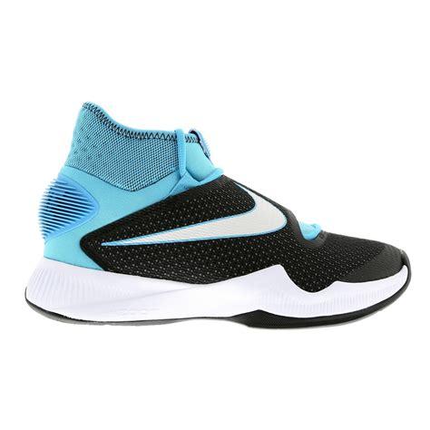 chaussure de basket nike zoom hyperrev 2016 homme noir blanche bleu destockage chaussures nike