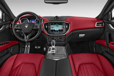 maserati ghibli red interior 2015 maserati ghibli cockpit interior photo automotive com