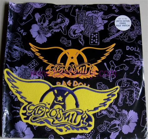 rag doll aerosmith album totally vinyl records aerosmith rag doll 12 inch