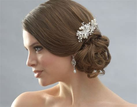 Wedding Hair Updo Pieces by Wedding Hair Accessories Bridal Hair Combs Style