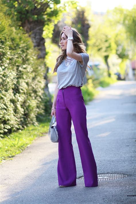 pant leg style street style tips wide leg pants 2018 fashiongum com