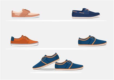 shoes vector mens shoes vectors free vector