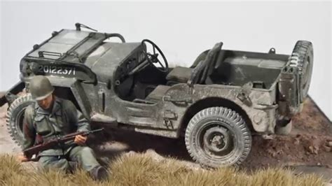 Ep71 Tamiya 1 35 Willys Jeep Vignette