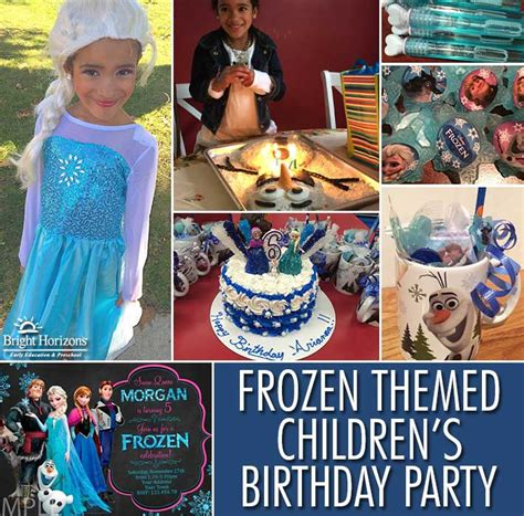 frozen themed party kelso frozen themed children s birthday party