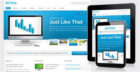 responsive layout template free download retina free responsive template chocotemplates