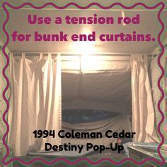 pop up cer curtains coleman pop up cer remodel pop up cer pinterest cer