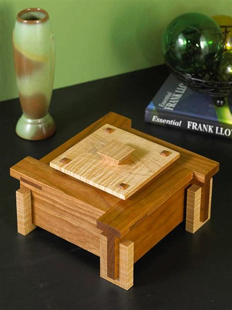 keepsake box plans woodworking architectural keepsake box woodworking plan from wood magazine