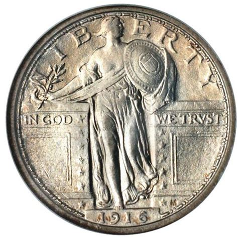 anacs article the 1916 standing liberty quarter dollar