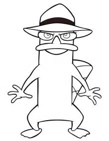 gallery gt platypus coloring pages