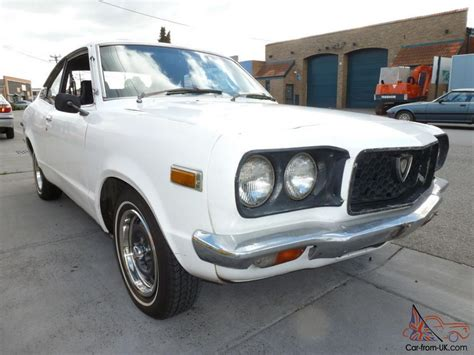 mazda rx3 coupe mazda rx3 10a coupe runs the key honest make