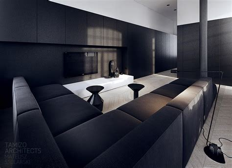 black sofa interior design ideas black sofa lounge interior design ideas