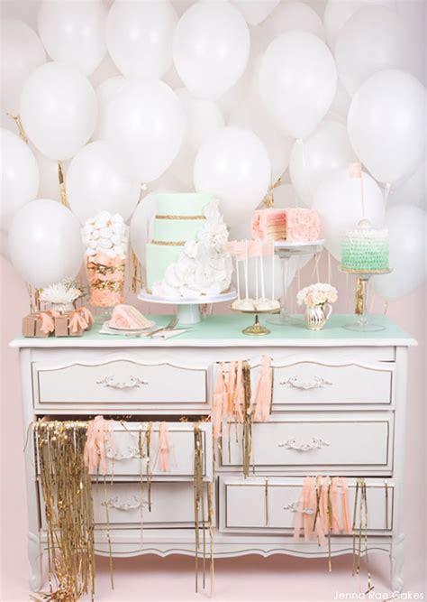 Gorgeous girl baby shower dessert tables design dazzle