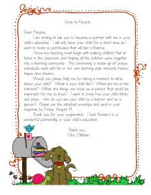 Thank You Letter Great Teacher From Parent letter to parents on pinterest teacher introduction letter read 180
