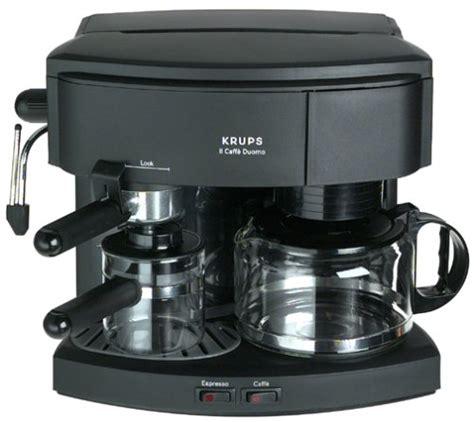 Coffee Consumers   Krups 985 42 Il Caffe Duomo Coffee and Espresso Machine, Black