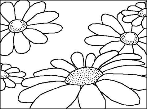 disegno fiori per bambini diverse margherite fiori disegni per bambini disegni da