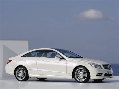 mercedes e class coupe new competition for the bmw 3