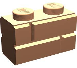 Lego Brick With Embossed Bricks 98283 lego flesh brick 1 x 2 with embossed bricks brick owl