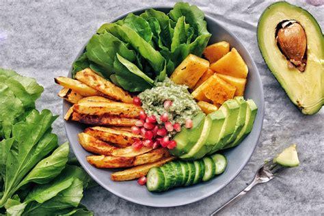 Easy Salad Recipe by Pumpkin Sweet Potato Buddha Bowl With Creamy Mustard