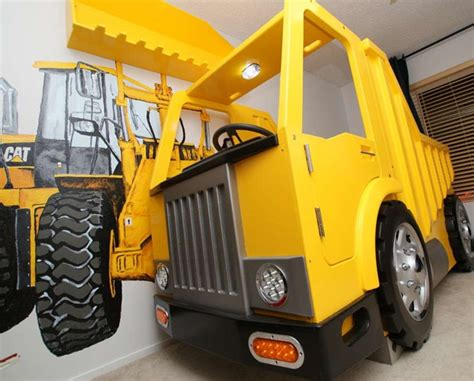 Dump Truck Beds by Dump Truck Bed Boys Bedroom Boys Bedrooms