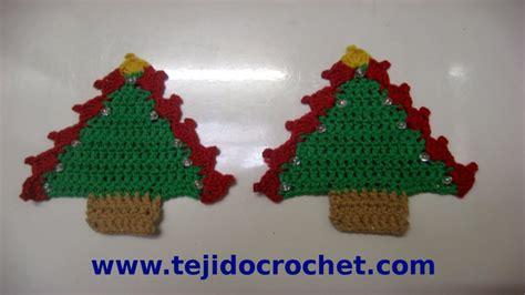 tejidos crochet navideos como tejer un arbolito de navidad en tejido crochet