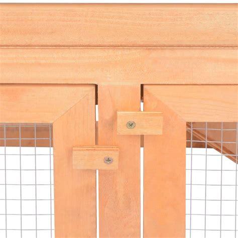 gabbia per conigli da esterno vidaxl gabbia per conigli da esterno in legno vidaxl it