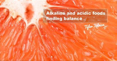 Alkaline Diet Detox School by Alkaline And Acidic Foods Finding Balance