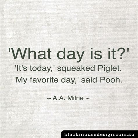 what is day what day is it black mouse design