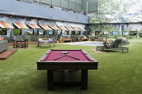 house with a big backyard big brother 18 backyard and game area big brother network