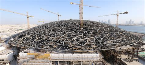 abu dhabi saadiyat cultural district zayed national the louvre abu dhabi nearing completion world property
