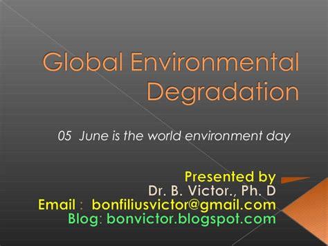 handbook of environmental degradation rates books global environmental degradation