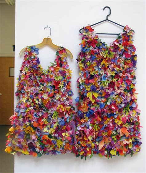 Flowers Dress in stitches march 2010