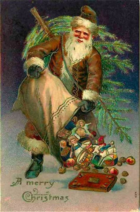 398 best images about vintage santa claus pictures on