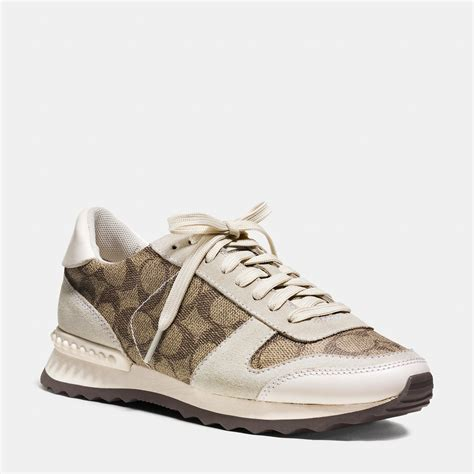 couch sneakers coach moonlight sneaker in natural lyst