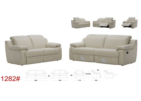 Motorized Reclining Sofa by Plum Sofa With Motorized Reclining Function Not Just Brown