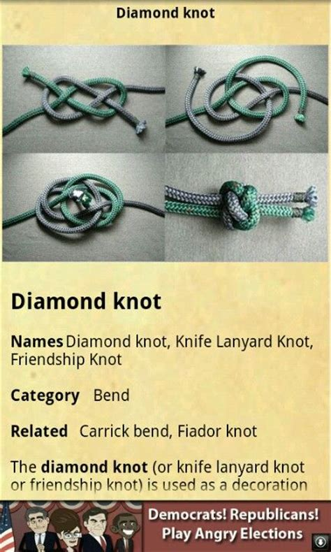 Decorative Knot Tying by Bracelets Paracord Knots And Winter On