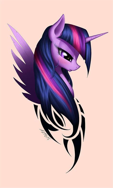 mlp tattoo by zig word my pony