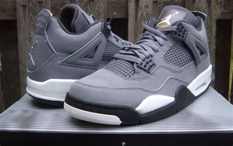 Air 4 Cool Grey On by In Context The Cool Grey Air 4 Sole Collector