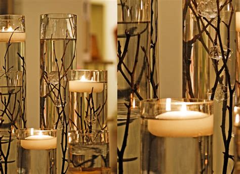 candle centerpieces for wedding memorable wedding wedding reception candle centerpieces