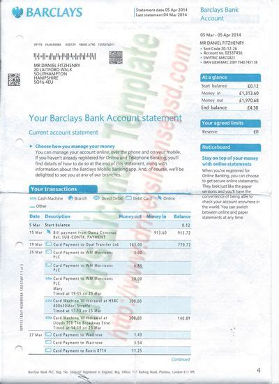 psd bank test barclays bank statement psd bank statement psd