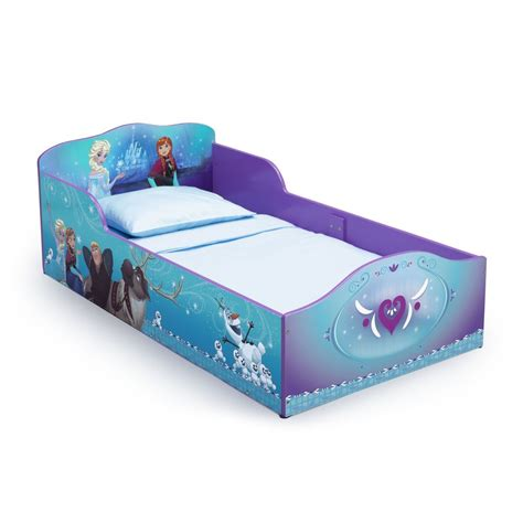 toddler beds with mattress frozen toddler bed kids children girlsblue plastic bedroom