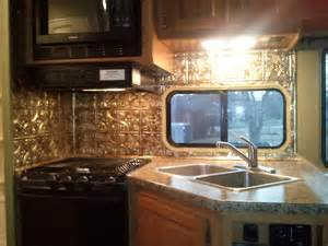 Rv Remodeling Ideas Photos Rv Galley Remodel Vintage Campers Pinterest