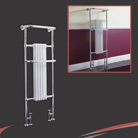 Designer Heated Towel Rails For Bathrooms by High Btus Traditional Designer Chrome Heated Towel Rails