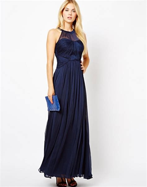 Maxi Shania Dress coast coast shania maxi dress in navy